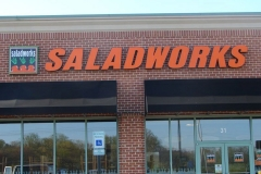 Commercial Awning for Saladworks in Newark, DE