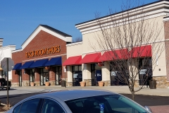 Commercial Awnings for Wilmington, DE, Shopping Plaza