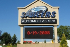 LED Sign Board in Monument Signs