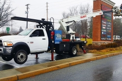 Installation of Pylon Signs in Kennett Square, PA