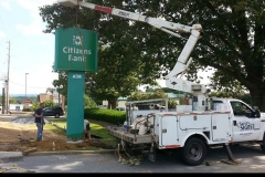 Pylon Signs Installation in New Castle, PA