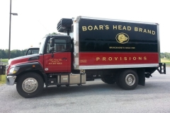 Truck Wrap for Boar's Head Commercial Truck