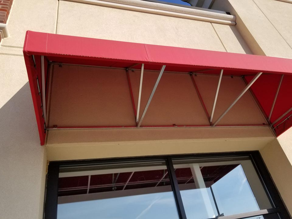 Commercial awnings in New Castle, PA