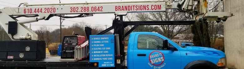 Truck Wrap in Boardman, OH, Wilmington, DE, Hockessin, DE