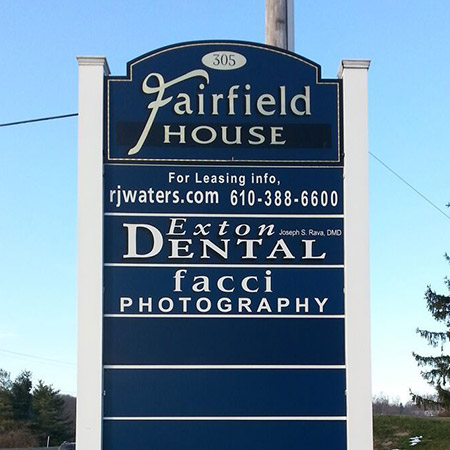 Business Signs in Boardman, OH, Hermitage, Kennett Square, New Castle, PA, Newark, and Wilmington, DE