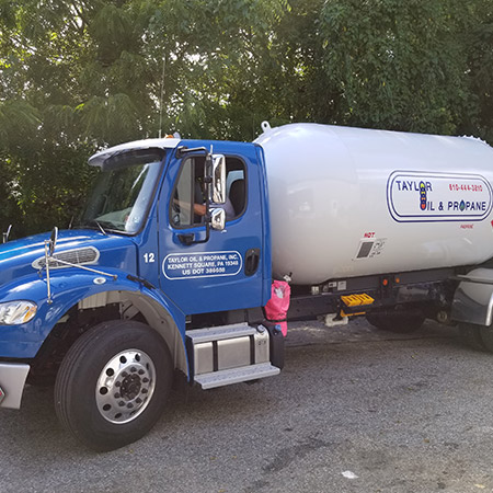 Commercial truck wrap in Kennett Square, PA for fleet vehicles
